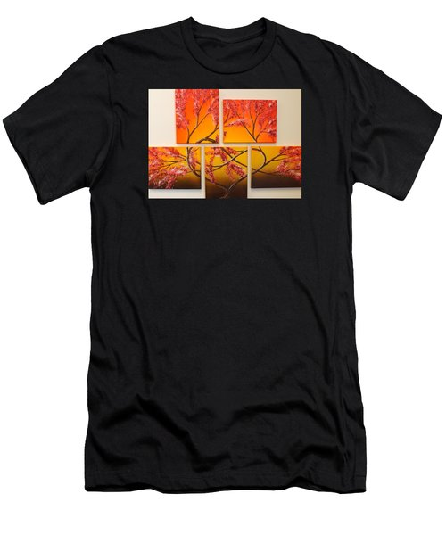 Tree Of Infinite Love Men's T-Shirt (Athletic Fit)