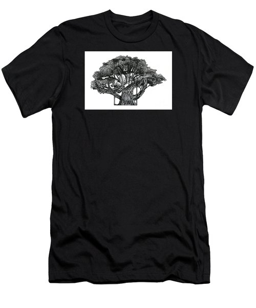 Tree Of Summer Men's T-Shirt (Athletic Fit)