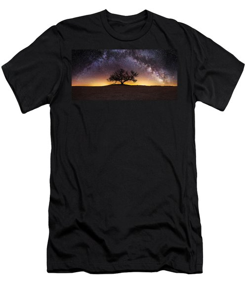 Men's T-Shirt (Athletic Fit) featuring the photograph Tree Of Wisdom by Aaron J Groen