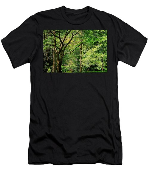 Men's T-Shirt (Slim Fit) featuring the photograph Tree Series 3 by Elf Evans