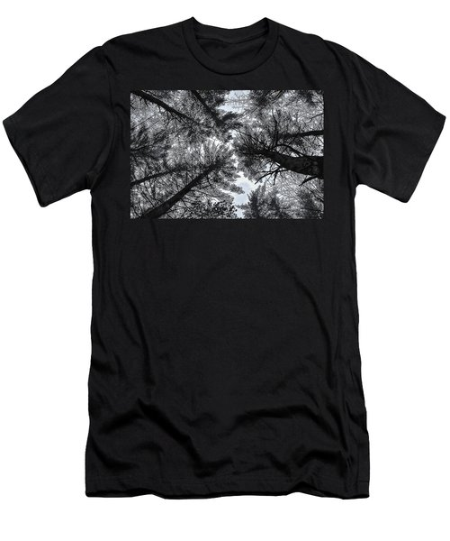 Trees In Winter Men's T-Shirt (Athletic Fit)