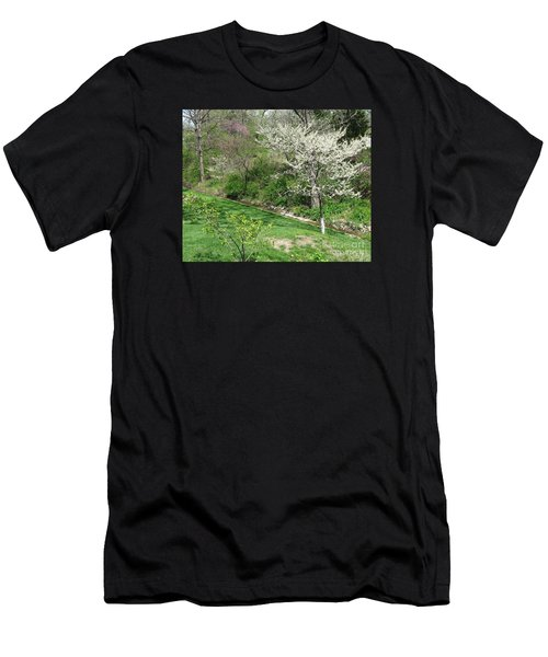 Trees Of Early Spring Men's T-Shirt (Athletic Fit)