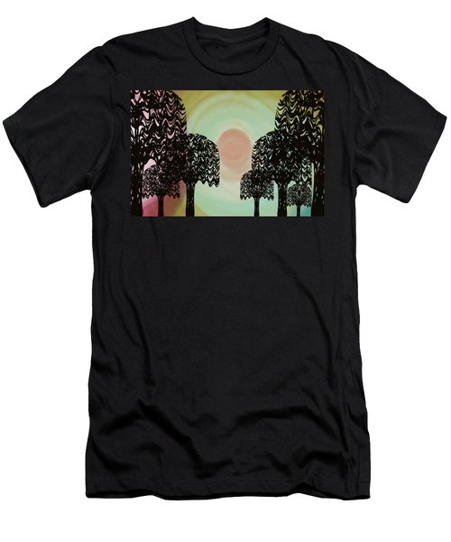Trees Of Light Men's T-Shirt (Athletic Fit)