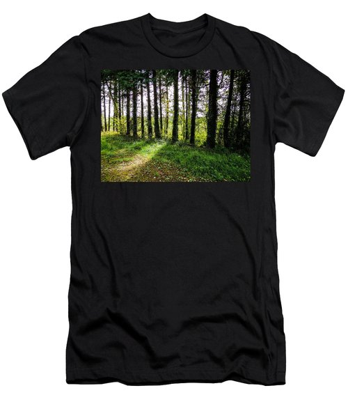 Trees On The Shannon Estuary Men's T-Shirt (Athletic Fit)