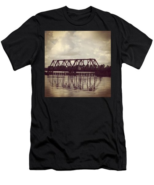 Trestle On The Pamlico River Men's T-Shirt (Athletic Fit)