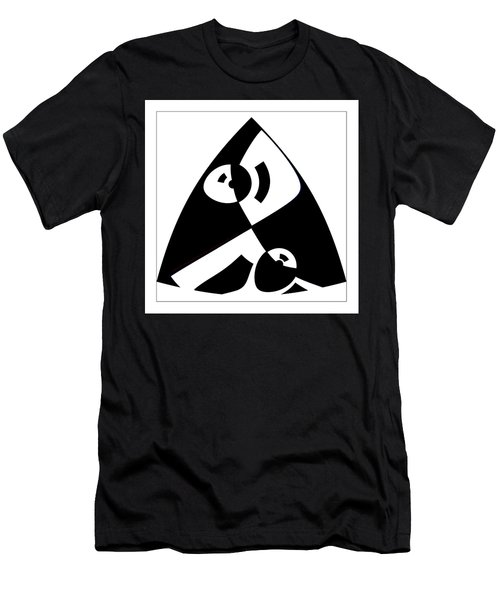 Triangle Men's T-Shirt (Athletic Fit)