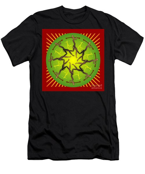 Tribal Warriors Men's T-Shirt (Athletic Fit)