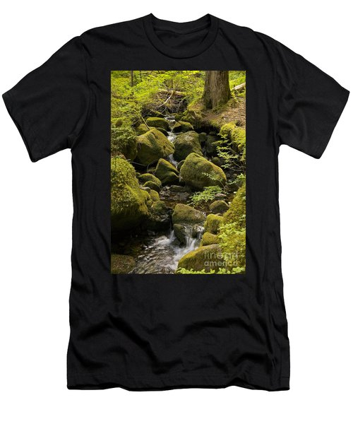 Tributary Men's T-Shirt (Slim Fit) by Sean Griffin