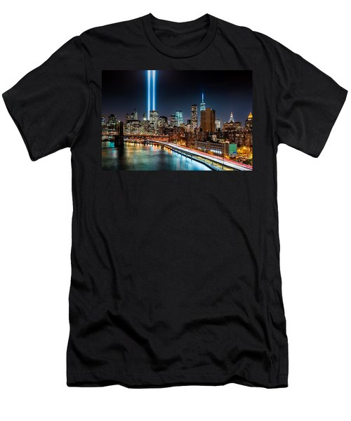 Tribute In Light Memorial Men's T-Shirt (Athletic Fit)