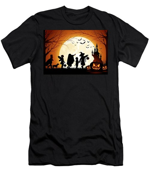 Trick Or Treat Men's T-Shirt (Athletic Fit)