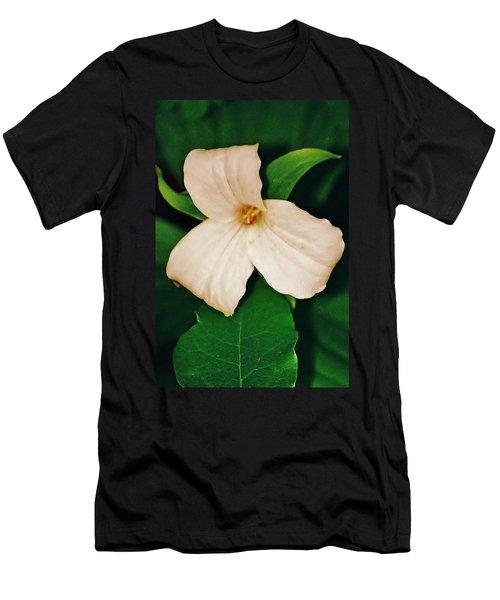 Men's T-Shirt (Slim Fit) featuring the photograph Trillium by Daniel Thompson