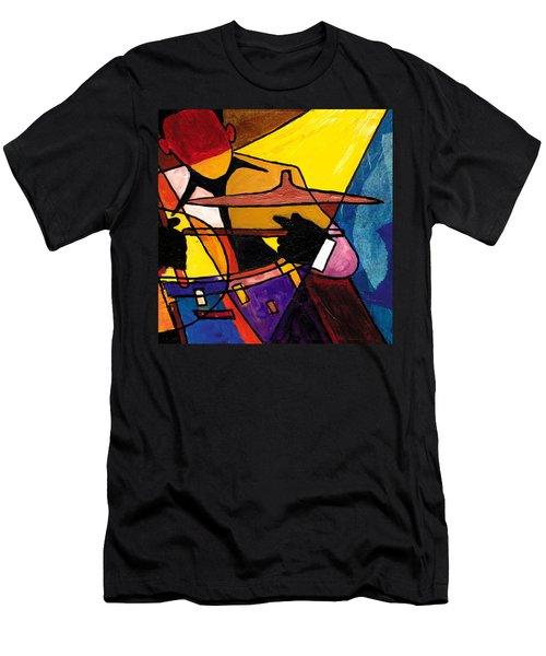 Trip Trio 3 Of 3 Men's T-Shirt (Athletic Fit)