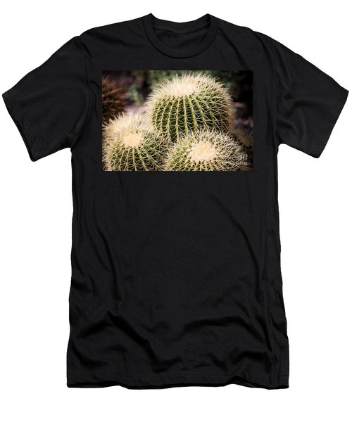 Men's T-Shirt (Athletic Fit) featuring the photograph Triple Cactus by John Wadleigh