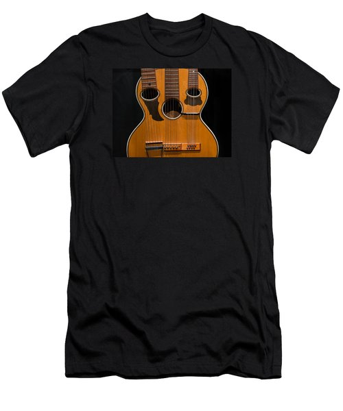 Men's T-Shirt (Slim Fit) featuring the photograph Triple-neck Instrument by Glenn DiPaola
