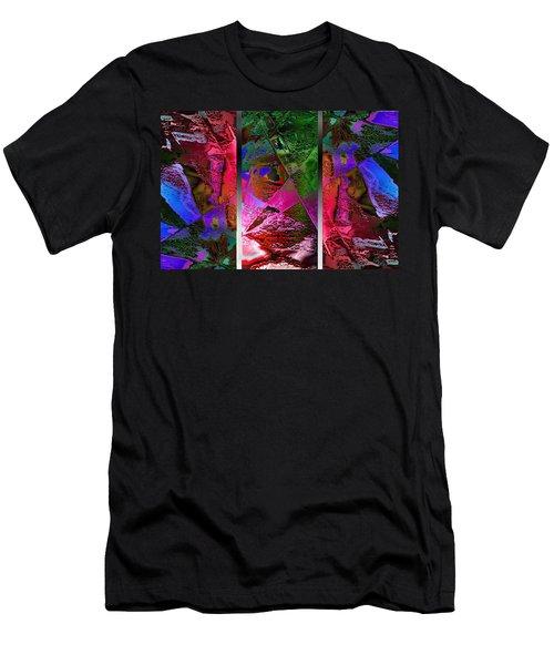 Triptych Chic Men's T-Shirt (Athletic Fit)