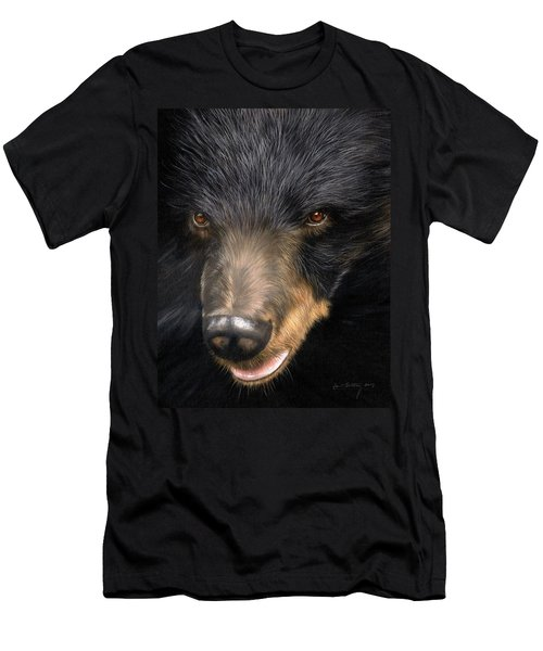 Trixie Moon Bear - In Support Of Animals Asia Men's T-Shirt (Athletic Fit)