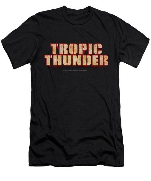 Tropic Thunder - Title Men's T-Shirt (Athletic Fit)