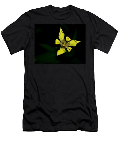 Tropic Yellow Men's T-Shirt (Slim Fit) by Miguel Winterpacht