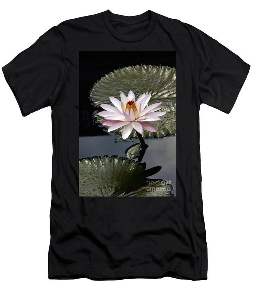 Tropical Floral Elegance Men's T-Shirt (Athletic Fit)