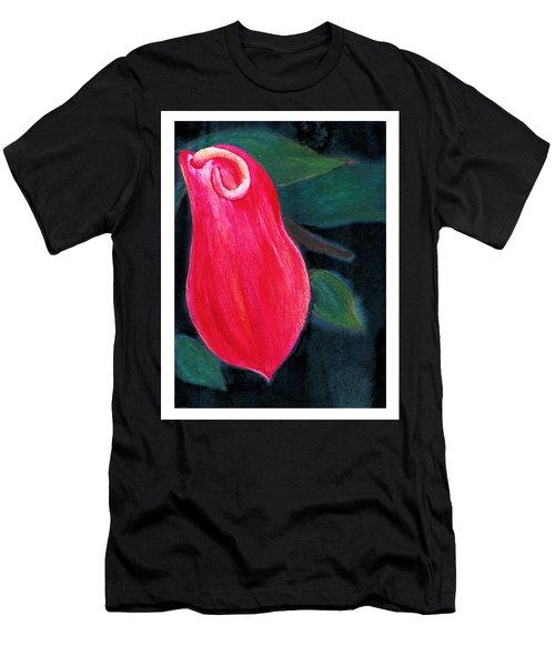 Tropical Flower 2 Men's T-Shirt (Slim Fit) by C Sitton