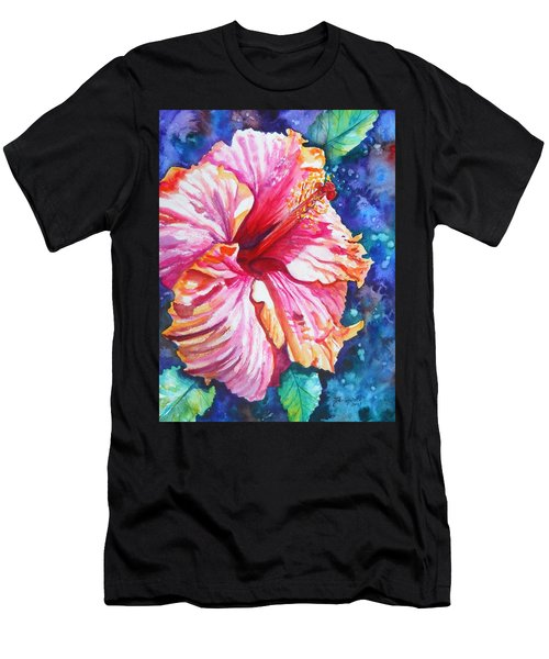 Tropical Hibiscus 4 Men's T-Shirt (Athletic Fit)