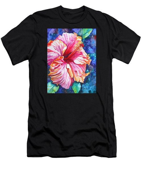 Tropical Hibiscus 4 Men's T-Shirt (Athletic Fit)