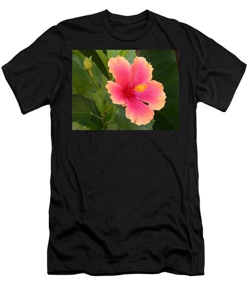 Tropical Hibiscus Men's T-Shirt (Athletic Fit)
