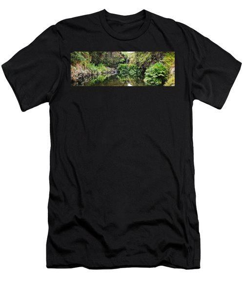 Tropical Reflections Men's T-Shirt (Athletic Fit)