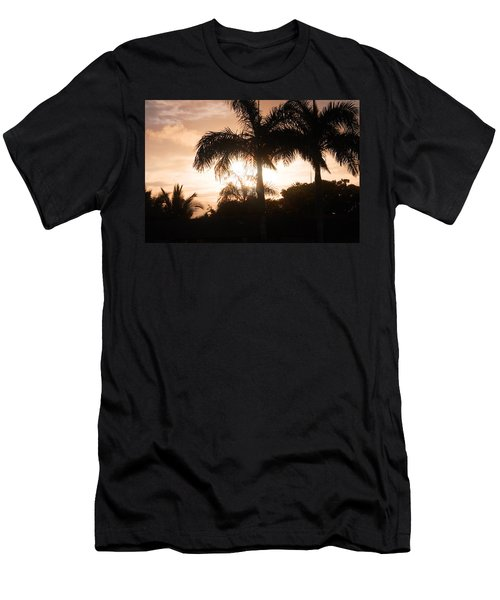 Tropical Sunrise Men's T-Shirt (Athletic Fit)