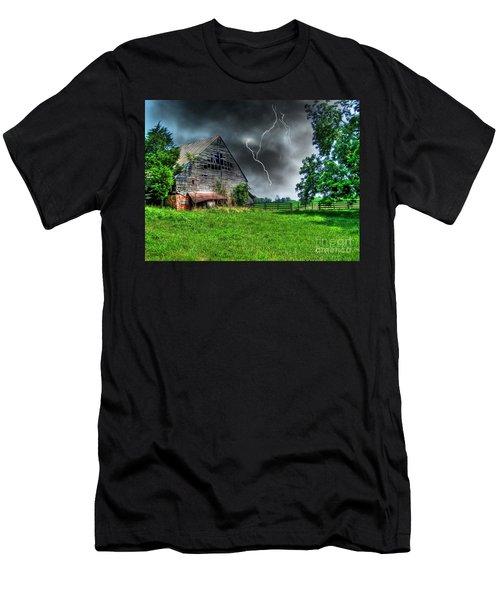 Trouble Brewing Men's T-Shirt (Slim Fit) by Dan Stone