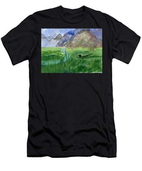 Trout Bum Men's T-Shirt (Athletic Fit)
