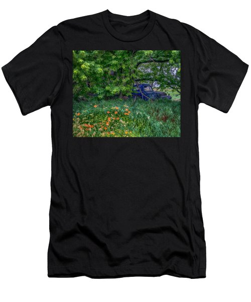 Truck In The Forest Men's T-Shirt (Athletic Fit)