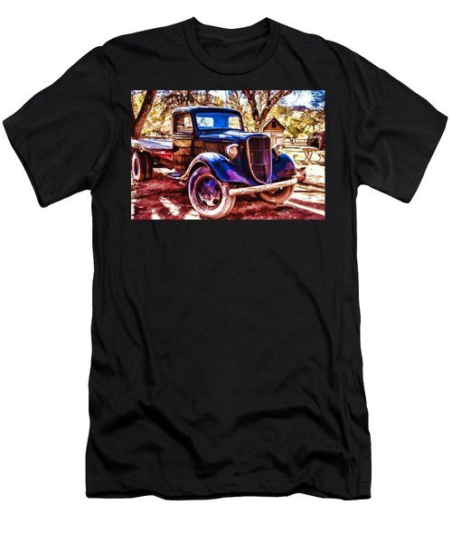 Truck Men's T-Shirt (Athletic Fit)