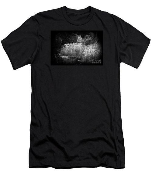 Men's T-Shirt (Slim Fit) featuring the photograph True Beauty Home by Steven Macanka