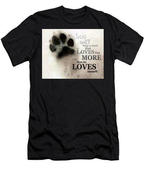True Love - By Sharon Cummings Words By Billings Men's T-Shirt (Athletic Fit)