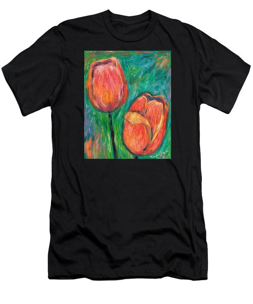 Tulip Dance Men's T-Shirt (Athletic Fit)