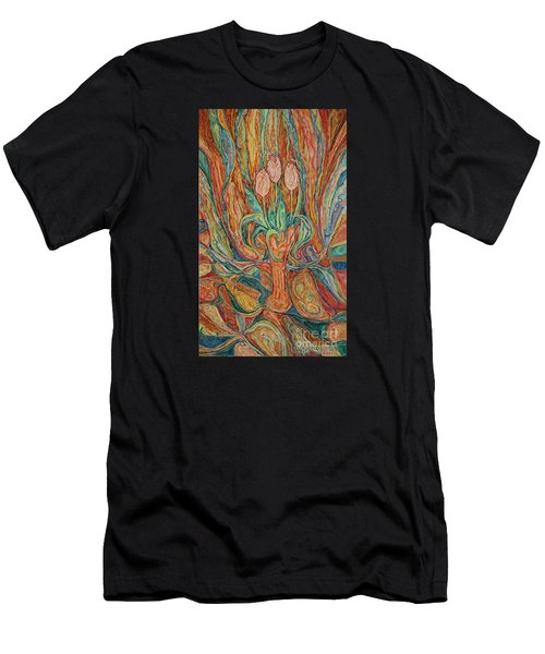 Tulips I Men's T-Shirt (Athletic Fit)