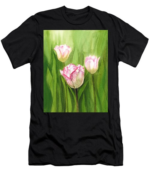 Tulips In The Fog Men's T-Shirt (Athletic Fit)