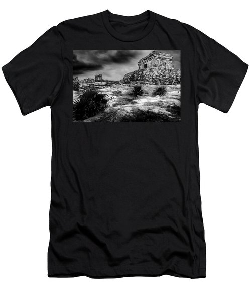 Tulum Ruin Men's T-Shirt (Athletic Fit)