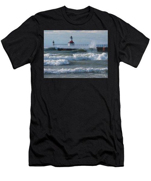 Tumultuous Lake Men's T-Shirt (Athletic Fit)