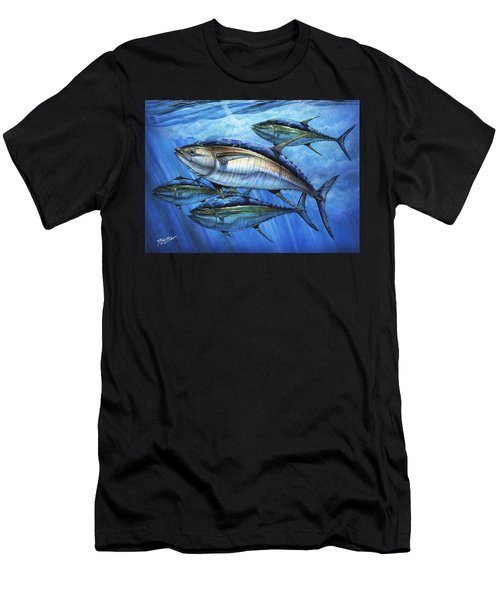 Tuna In Advanced Men's T-Shirt (Athletic Fit)
