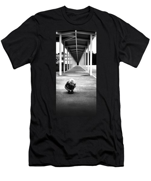 Men's T-Shirt (Athletic Fit) featuring the photograph Tunnel Vision by Tyson Kinnison