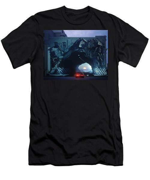 Tunnelvision Men's T-Shirt (Slim Fit) by Blue Sky
