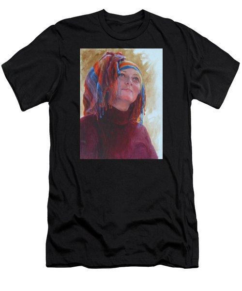 Turban 1 Men's T-Shirt (Slim Fit) by Connie Schaertl