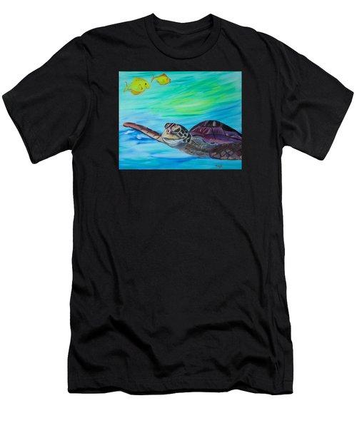 Traveling Through Men's T-Shirt (Athletic Fit)