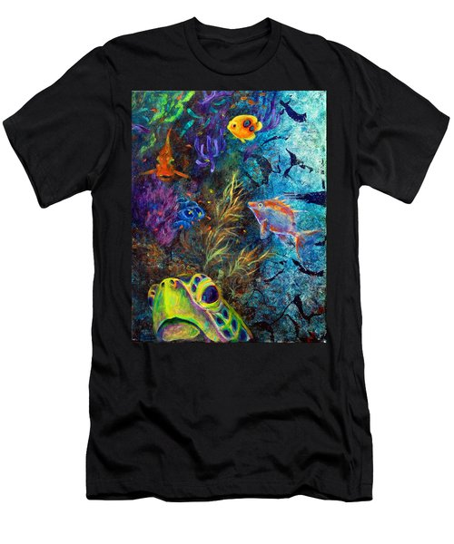 Turtle Wall 3 Men's T-Shirt (Athletic Fit)