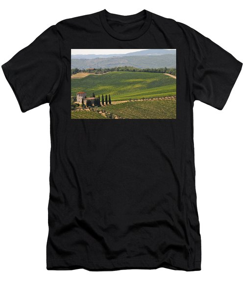 Tuscan Hillside Men's T-Shirt (Athletic Fit)