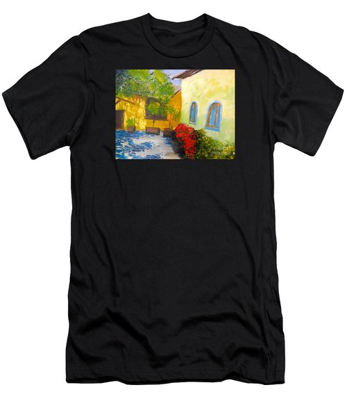 Tuscany Courtyard 2 Men's T-Shirt (Athletic Fit)