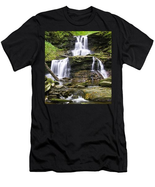 Tuscarora Falls Men's T-Shirt (Athletic Fit)