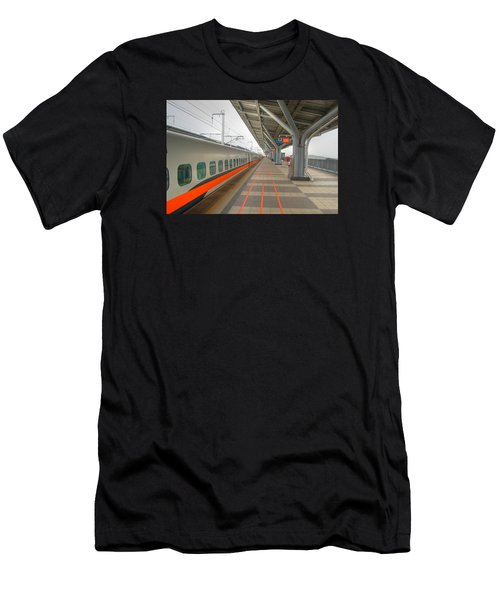 Tw Bullet Train 2 Men's T-Shirt (Athletic Fit)